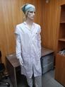 Антистатический мужской халат DOKA-ХР