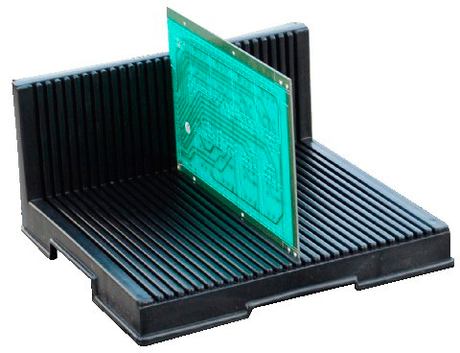 Антистатическая  L-образная подставка DOKA-A002 для печатных плат