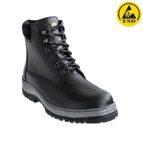 Антистатические кожаные ботинки 8448Б